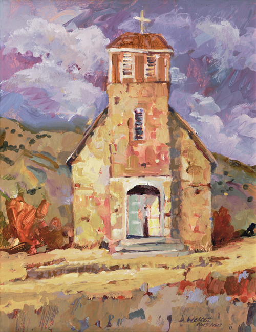 Hondo Valley Chapel, Dee Wescott
