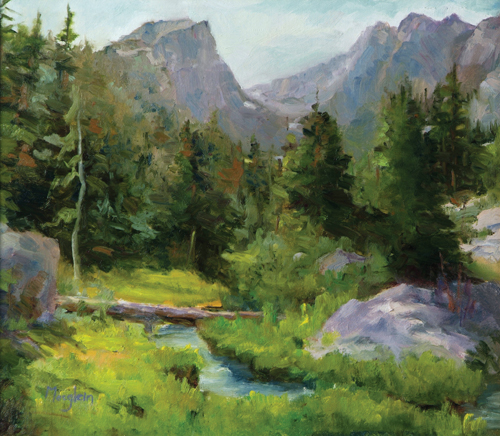 Approaching Dream Lake, Nancy Moglein