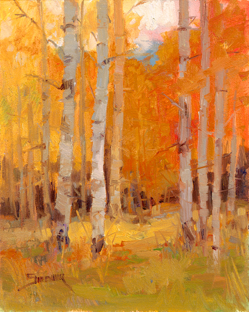 Orange Forest, LaVerne Siebuhr