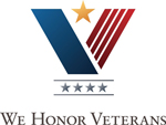 We Honor Veterans logo