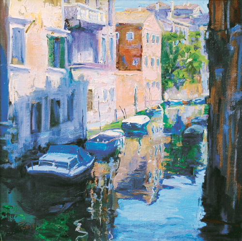 Venice Reflections, Rita Cirillo